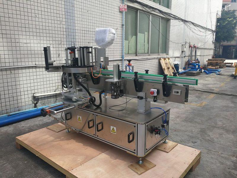 중국 자동 접착 자동적 인 둥근 병 스티커 레테르를 붙이는 기계 PLC 통제 협력 업체