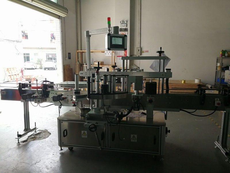 중국 쌍방 정연한 병 레테르를 붙이는 기계 높은 정밀도 50HZ 협력 업체