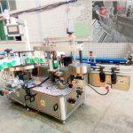 샴푸와 세제를위한 자동적 인 자동 접착 레테르를 붙이는 기계