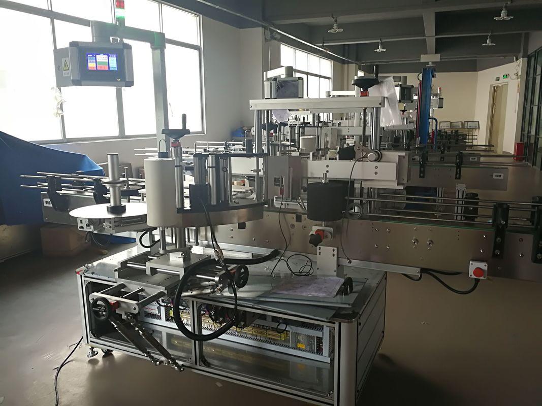 편평한 병 레테르를 붙이는 기계, 자동적 인 상표 도포 구 기계