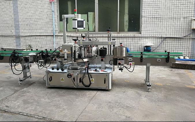 중국 자동 귀환 제어 장치 모터를 가진 쌍방 자동적 인 스티커 레테르를 붙이는 기계 협력 업체