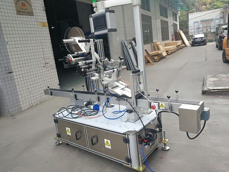 중국 분사구 주머니 전기 몬 유형을위한 스티커 정상 레테르를 붙이는 기계 협력 업체