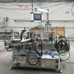 고정밀 자동 스티커 양면 플랫 병 라벨러 기계