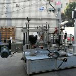 병을위한 가득 차있는 자동적 인 자동 접착 라벨 도포 구 기계