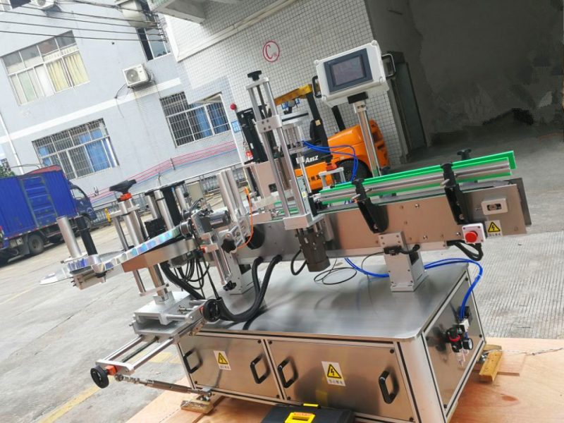 중국 감압 성 둥근 병 스티커 레테르를 붙이는 기계, 상표 도포 구의 주위에 수직 포장 협력 업체
