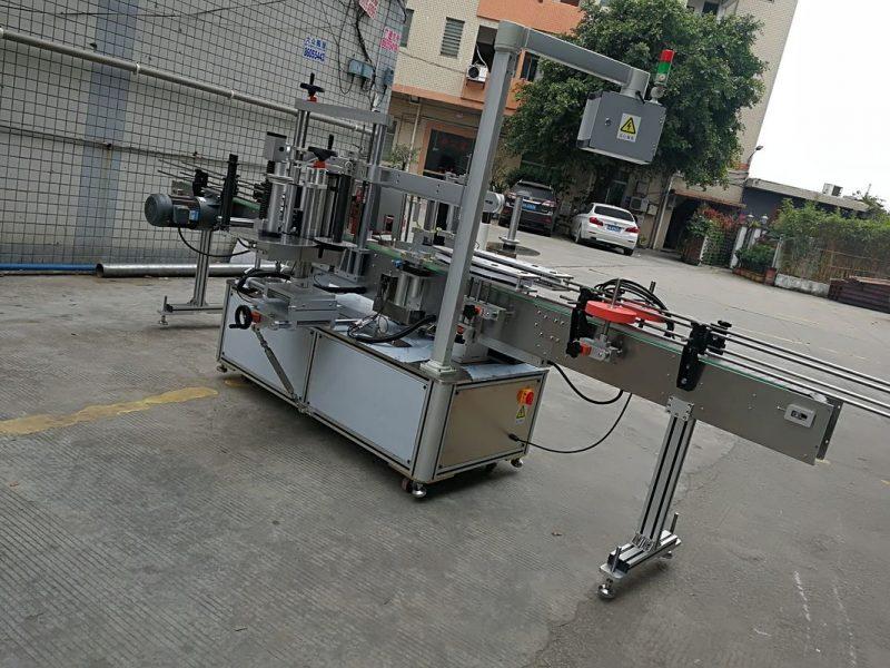 중국 고속 200BS / Min를 가진 자동 접착 스티커 레테르를 붙이는 기계 협력 업체