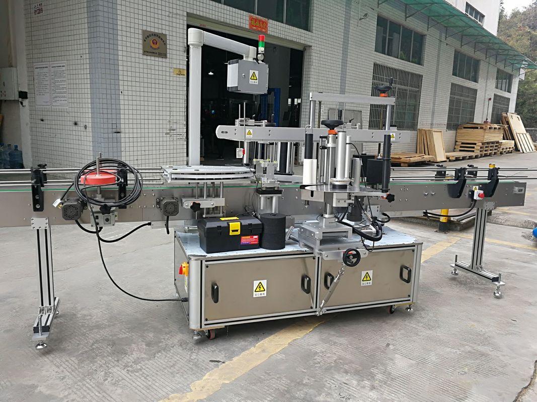 가득 차있는 자동적 인 판지 코너 바다 표범 어업 스티커 레테르를 붙이는 기계 220V 50HZ 1200W